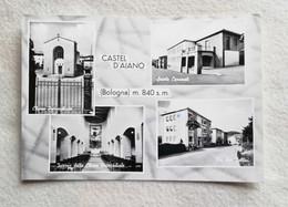 Cartolina Illustrata Castel D'Aiano - Scorci Diversi, Non Viaggiata - Italy