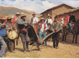 PASACALLE DEL CONDOR EN YAWAR FIESTA / COTABAMBAS / APURINAC - Peru