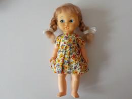 Ancien Poupée Baby Doll Amanda Jane Made England Membres Mobiles - Puppen