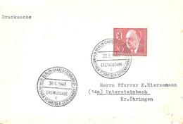 GERMANY. FDC WALTER SCHREIBER. 1960 - [7] Repubblica Federale