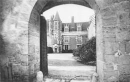 Luynes (37) - Porte D'entrée Et Cour Intérieure Du Château - Luynes
