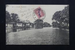 RUSSIE / CHINE - Affranchissement De Shanghai Sur Carte Postale En 1910 Pour La France - L 72032 - Cina