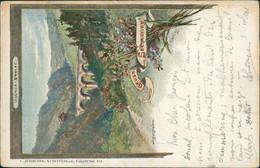 AT SEMMERING / Wagner Brucke / CARTE COULEUR - Semmering