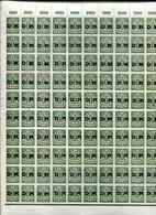 Danzig DIENST 37 ORIGINALBOGEN ** POSTFRISCH 200EUR (39961 - Dantzig