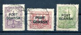 Danzig PORT GDANSK 12/14 SATZ Gest. 140EUR (H7607 - Danzig