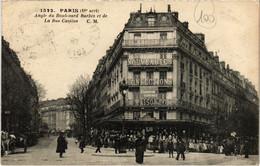 CPA Paris 18e - La Rue Custine (79417) - Arrondissement: 18