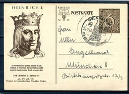 DR-3.Reich P285 Mit HEINRICH I Gest. (H8833 - Stamped Stationery