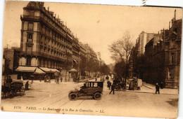 CPA Paris 17e - Le Boulevard Et La Rue Courcelles (79503) - Arrondissement: 17