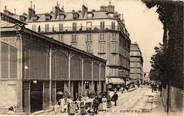 CPA Paris 17e - Marché Et Rue Bayen (79504) - Arrondissement: 17