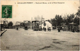 CPA Paris 17e - Bulevard Bineau Porte Champerret (79519) - Arrondissement: 17