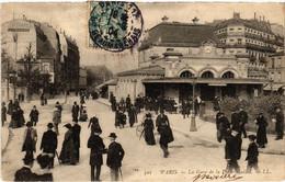 CPA Paris 17e - L'Gare De La Porte-Maillot (79534) - Arrondissement: 17