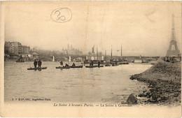 CPA Paris 15e - La Seine á Grenelle (79544) - Arrondissement: 15