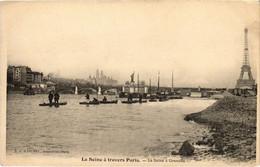 CPA Paris 15e - La Seine á Grenelle (79546) - Arrondissement: 15