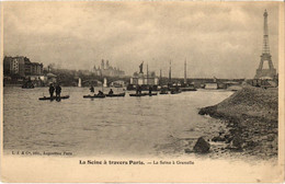CPA Paris 15e - La Seine á Grenelle (79547) - Arrondissement: 15