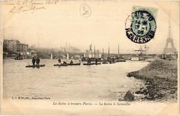 CPA Paris 20e - La Seine á Grenelle (79548) - Arrondissement: 15