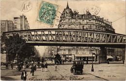 CPA Paris 15e - La Rue Lecourbe (79553) - Arrondissement: 15