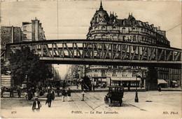CPA Paris 15e - La Rue Lecourbe (79554) - Arrondissement: 15