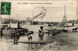 CPA Paris 15e - Vue Sur La Seine (79561) - Arrondissement: 15