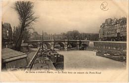 CPA Paris 6e - Le Petit Bras En Amont Du Pont-Neuf (79695) - Arrondissement: 06