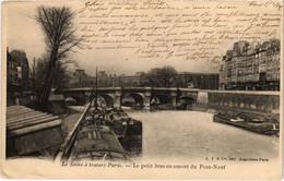 CPA Paris 6e - Le Petit Bras En Amont Du Pont-Neuf (79699) - Arrondissement: 06