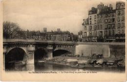 CPA Paris 6e - Le Pont-Neuf Au Petit Bras De La Seine (79700) - Arrondissement: 06