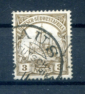 DSWA 11 Ideal AUS Gest. (H7588 - Colony: German South West Africa