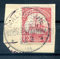 DSWA 13 Ideal MALTAHÖHE Gest. Luxusbriefstück (H7577 - Colony: German South West Africa