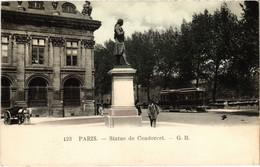 CPA Paris 6e - Staue Du Condorcet (79709) - Arrondissement: 06