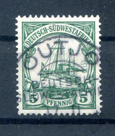 DSWA 25 Ideal OUTJO Gest. (H7572 - Colony: German South West Africa