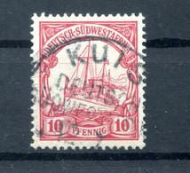 DSWA 26 Ideal KUIS Gest. (H7586 - Colony: German South West Africa