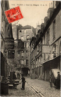 CPA Paris 6e - Cour Du Dragon (79714) - Arrondissement: 06