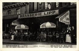 CPA Paris 6e - Brasserie Balzar (79716) - Arrondissement: 06