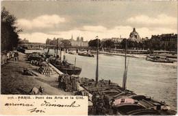 CPA Paris 6e - Pont Des Arts Et La Cité (79722) - Arrondissement: 06
