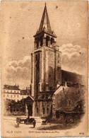 CPA Paris 6e - Église Saint-Germain Des Prés (79737) - Arrondissement: 06