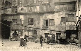 CPA Paris 6e - Cour De L'Auberge Du Cheval Blanch (79755) - Arrondissement: 06