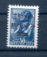 Litauen ROSKISKIS 5bI Tadellos ** POSTFRISCH BPP 50EUR (78046 - Besetzungen 1938-45