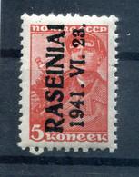 Litauen ROSSINGEN  1III LUXUS ** POSTFRISCH 15EUR (77888 - Besetzungen 1938-45