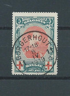 N°132 OBLITERE BORGERHOUT - 1914-1915 Croix-Rouge