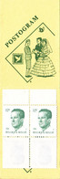 B01-189 2113  ART B17 Carnet ** CA17 Gomme Blanche Velghe  24-9-1984   €6 - Libretti 1953-....