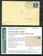 Sudetenland KARLSBAD 6 Auf BLANKOBELEG+gepr. Befund -,-EUR (H7904 - Sudetenland