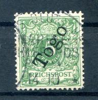 Togo 2 Mit SEEPOST Gest. (H9148 - Colonia: Togo