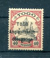 Togo Britisch 7I LUXUS * MH BPP 400EUR (H8373 - Colony: Togo