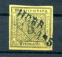 Württemberg STEMPEL HORB L2 Schwarz Auf 2 Tadellos Gest. (10008 - Wuerttemberg