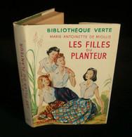 ( Enfantina ) LES FILLES DU PLANTEUR Par Marie-Antoinette De MIOLLIS 1957 Bibliothèque Verte - Books, Magazines, Comics