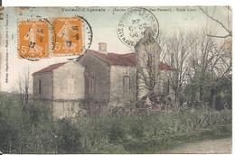 VERTEUIL D' AGENAIS. ECOLE LIBRE. ANCIEN COUVENT DU BON PASTEUR - Other Municipalities