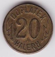 Jeton - Token - HALERU - ELEKTRICHE DRAHY - Czechoslovakia - Tchécoslovaquie - Monetary /of Necessity