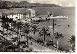 Italie Liguria Imperia San Remo Riviera Dei Flori Veduta Del Porto Port Bateau Montagne Palmier Baumard Angers - Imperia