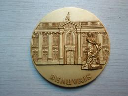 Médaille Ville De Beauvais. Bronze - France