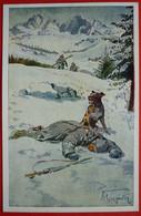 K.u.K. Soldaten, WWI - Offizielle Karte Fur Rotes Kreuz Nr. 389 K.H.B. KALTESCHUTZ - Weltkrieg 1914-18
