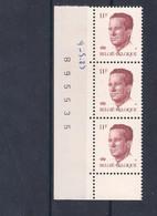 Bande De 3 N° 2085 P5a**. - 1981-1990 Velghe